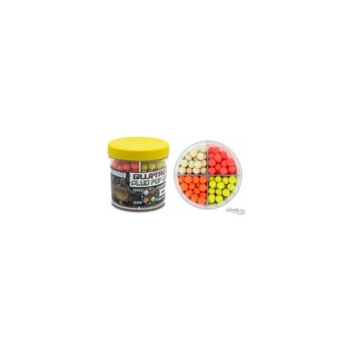 Бойлы Haldorádó Quatro Fluo Pop Up Boilies 8mm