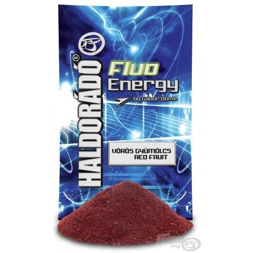 Прикормка Haldorádó Fluo Energy - Vörös Gyümölcs / Red Fruit (Красные фрукты)
