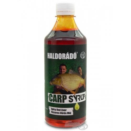 Карповый сироп Haldorádó Carp Syrup - Fűszeres Vörös Máj / Spicy Red Liver (Пряная красная печень)