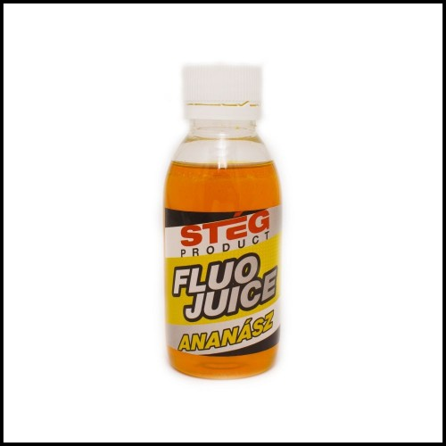 Флюо эссенция STÉG FLUO JUICE Pineapple (Ананас) 120ml