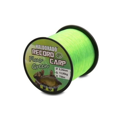 Леска Haldorádó Record Carp Fluo Green
