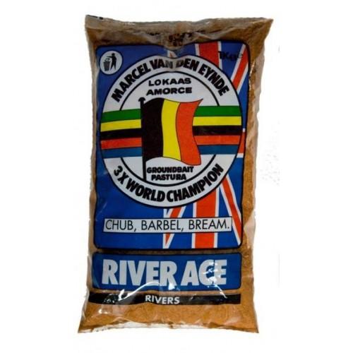 Прикормка VDE River Ace black 1kg.