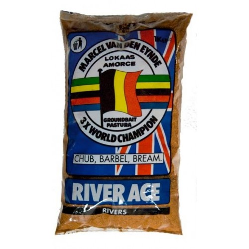 Прикормка VDE River Ace black 1kg.
