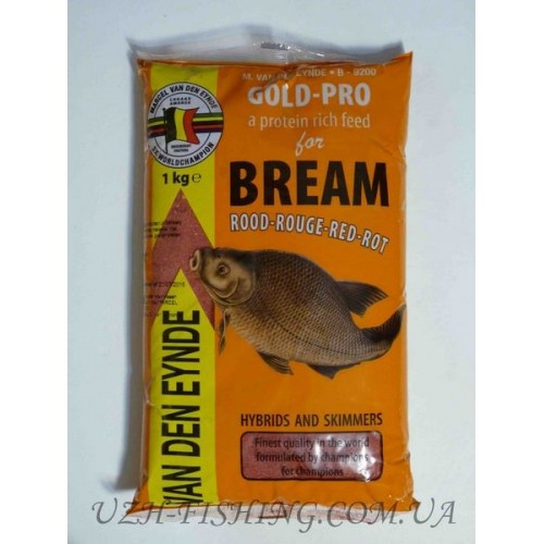 Прикормка VDE Gold - Pro Yellow 1 kg