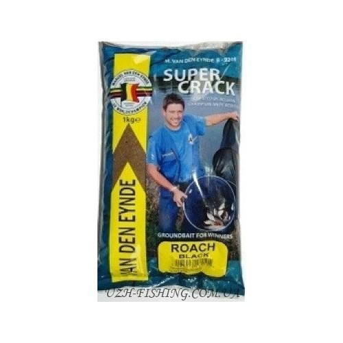 Прикормка VDE Supercrack Voorn Zwart 1 kg
