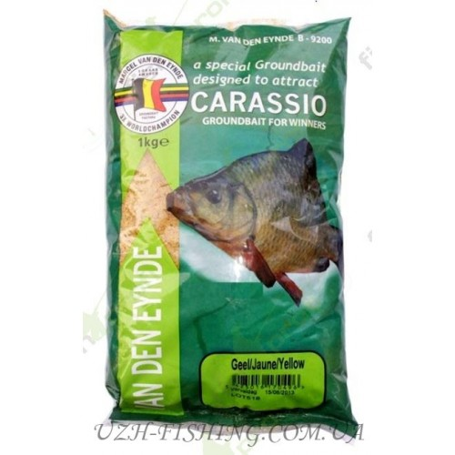 Прикормка VDE Carassio Geel/Jaune/Yellow 1 kg