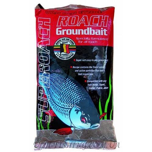 Прикормка VDE Superroach zwart 1 kg