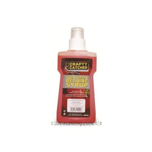 Ликвид VDE Betaine Syrups Strawberry (Клубника) 250 ml
