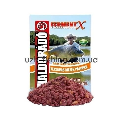 Прикормка Haldorado FermentX - Tejsavas Mézes Pálinka (Мёд-самогон) 1 kg