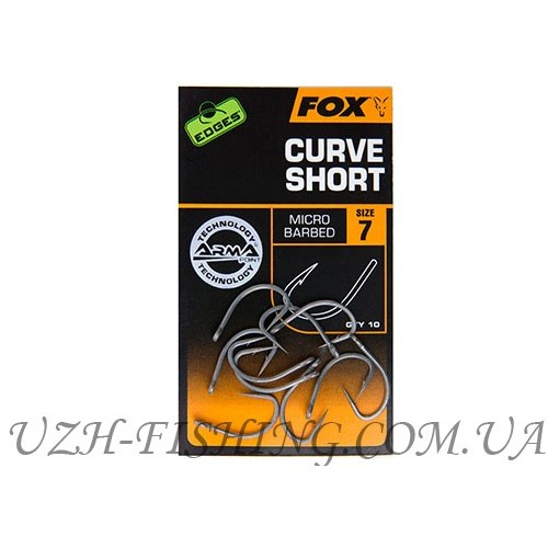 Крючки FOX EDGES™ CURVE SHORT