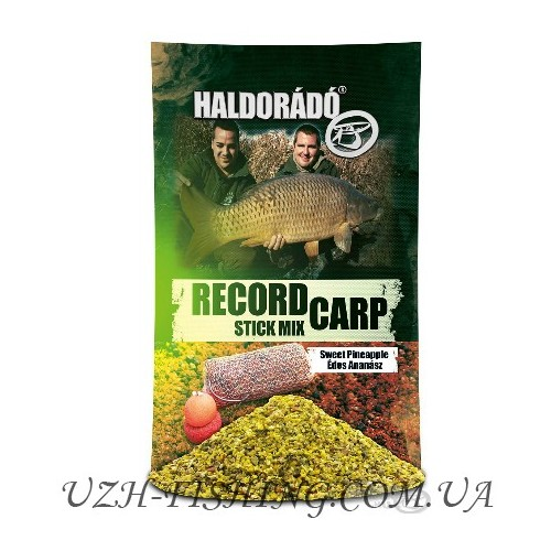 Прикормка Haldorádó Record Carp Stick Mix - Édes Ananász / Sweet Pineapple