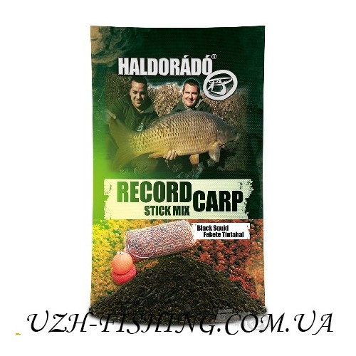 Прикормка Haldorádó Record Carp Stick Mix - Fekete Tintahal / Black Squid