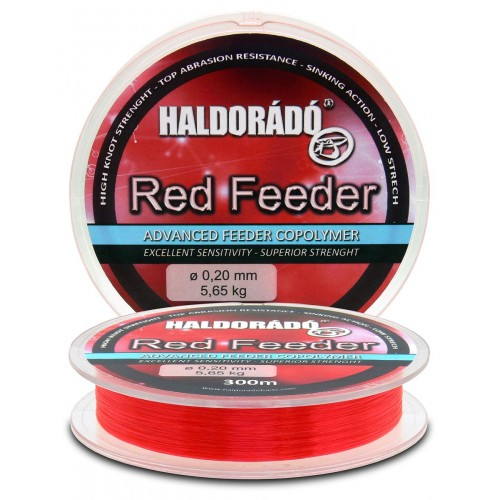 Леска Haldorаdо Red Feeder - 0,18мм/300м - 4,55кг.