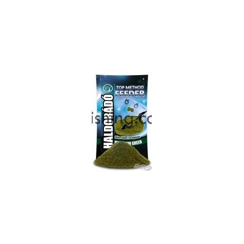 Прикормка Haldorádó TOP Method Feeder Maximum Green (Максимум зелёный) 0.8 kg