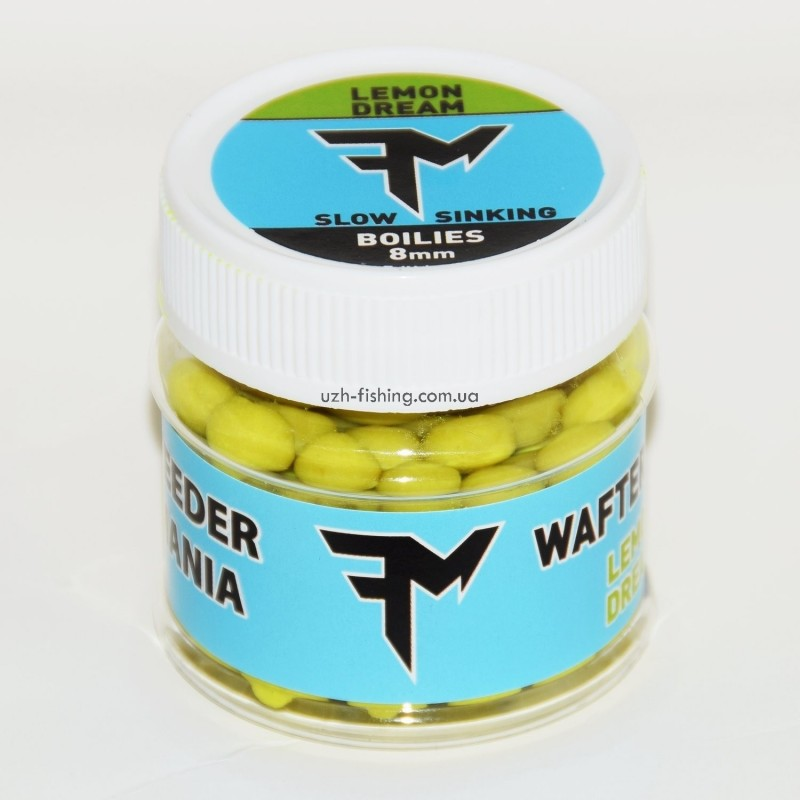 Бойлы Feedermania Wafters LEMON DREAM (Лимонная мечта)