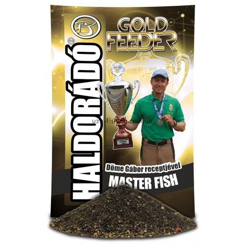Прикормка Haldorádó Gold Feeder Master Fish (Мастер Фиш) 1 kg