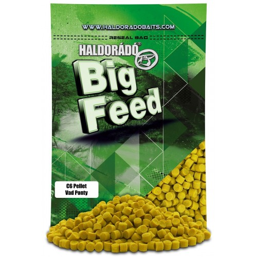 Пеллет Big Feed - C6 Pellet 8 mm - Vad Ponty (Дикий карп) 900гр
