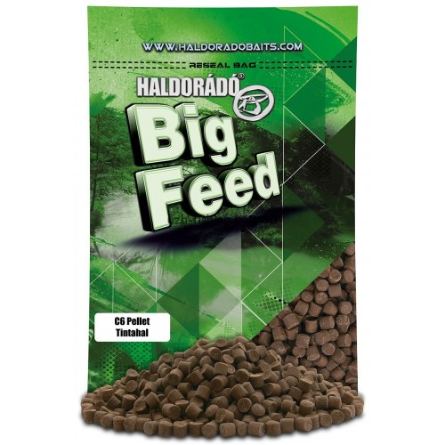Пеллет Big Feed - C6 Pellet 8 mm - Tintahal (Кальмар) 900гр