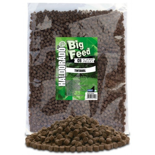 Пеллет Big Feed - C6 Pellet 8 mm - Tintahal (Кальмар) 2,5кг