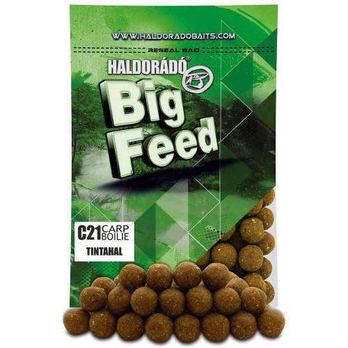 Бойлы Big Feed - C21 Boilie 21мм - Tintahal (Кальмар) 800гр