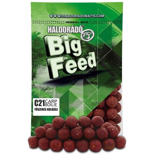 Бойлы Big Feed - C21 Boilie 21мм - Fűszeres Kolbász (Пряная колбаса) 800гр