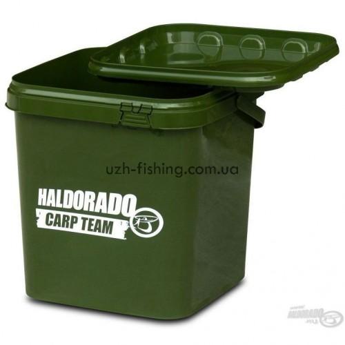 Квадратное ведро Haldorado 5л