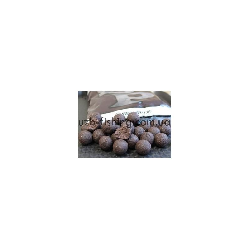 "Пылящие бойлы ""STEG"" - Шоколад Печень 24мм"