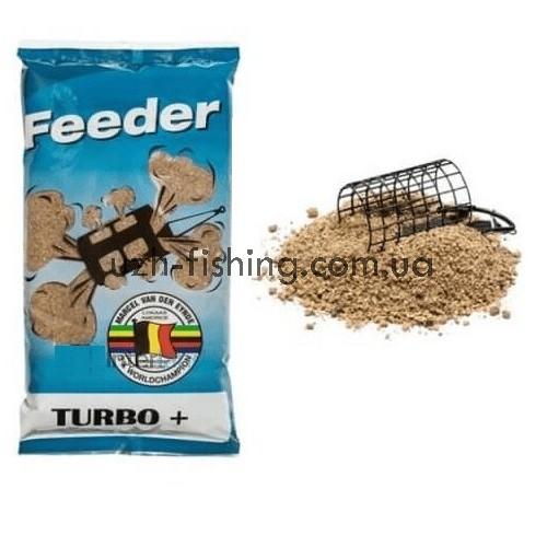 Прикормка VDE Feeder Turbo+ (Фидер Турбо +) 1кг