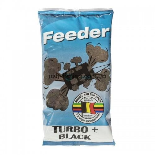 Прикормка VDE Feeder Turbo+ Black (Фидер Турбо + Черный) 1кг