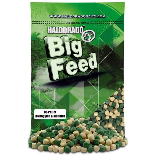 Пеллет Big Feed - C6 Pellet 8 mm - Fokhagyma & Mandula (Миндаль-чеснок) 900гр