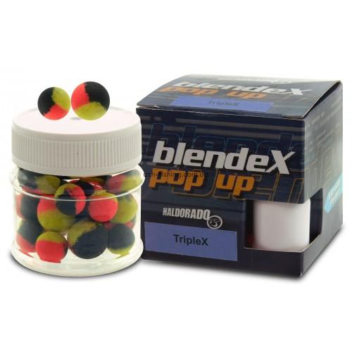 Бойлы плавающие Haldorádó BlendeX Pop Up - TripleX (Большой карп, кальмар и колбаса)