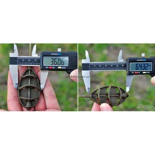 Комплект кормушки + топталка Haldorado Method Feeder LC 55гр