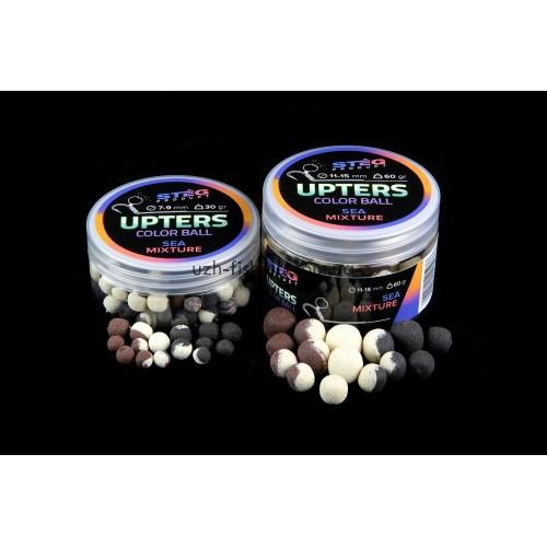 Бойлы Steg Upters Color Ball Морская смесь (SEA MIXTURE) 11-15мм 60гр