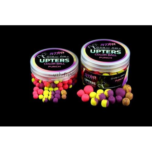 Бойлы Steg Upters Color Ball Пунш (PUNCH) 7-9мм 30гр
