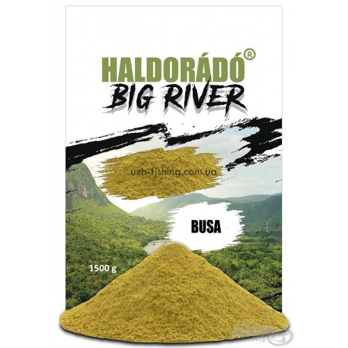 Прикормка Haldorado BIG RIVER - Busa (Толстолоб) 1,5kg