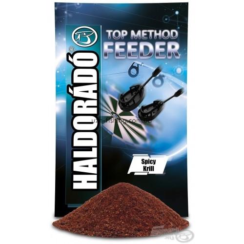 Прикормка Haldorádó TOP Method Feeder - Spicy Krill (Пряный криль)