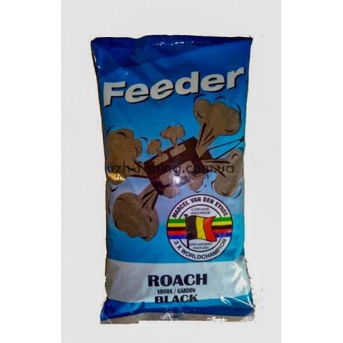 Прикормка VDE Feeder Roach Black (Фидер Плотва Черная) 1кг